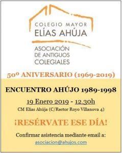Encuentro Ahújo 1989-1998 - Enero 2019