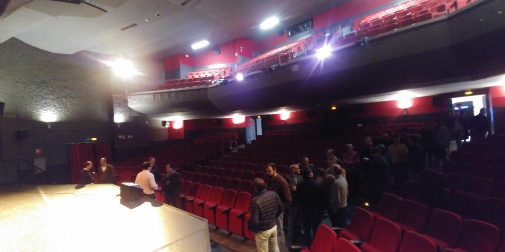 Encuentro Generacional 89-98. Visita al teatro (2)