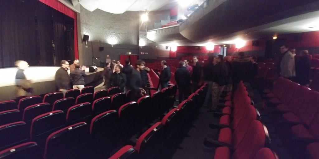 Encuentro Generacional 89-98. Visita al teatro